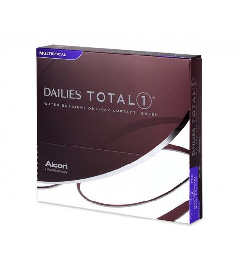 DAILIES TOTAL 1 MULTYFOCAL Ημερήσιοι πολυεστιακοί φακοί επαφής (90 φακοί)