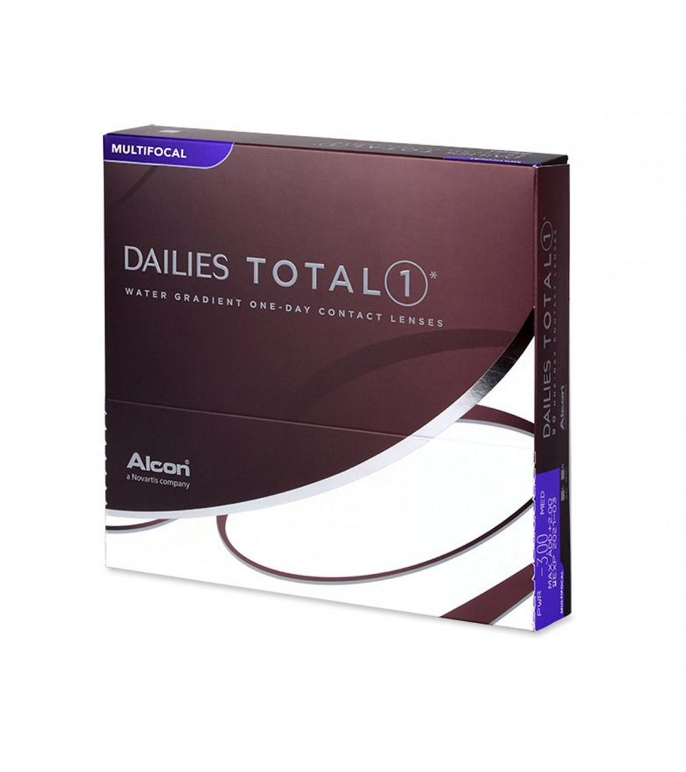 DAILIES TOTAL 1 Ημερήσιοι πολυεστιακοί φακοί επαφής (90 φακοί)