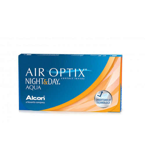 AIR OPTIX NIGHT&DAY AQUA Μηνιαίοι φακοί επαφής 3 φακοί