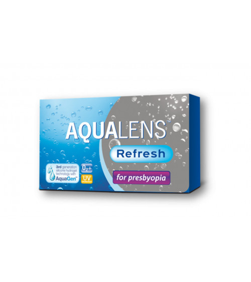 AQUALENS REFRESH MULTIFOCAL Monthly 3 pack