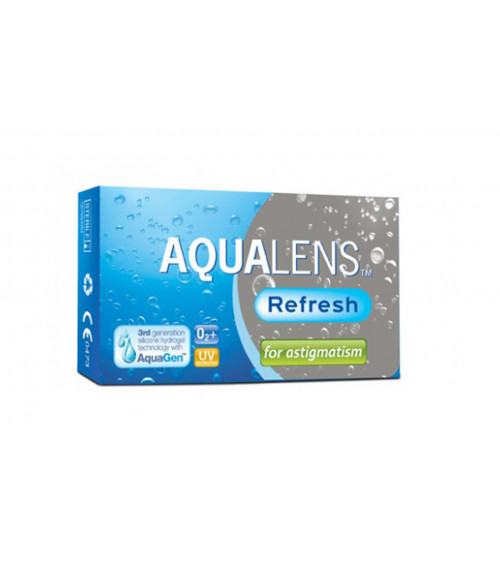 AQUALENS REFRESH MONTHLY ASTIGMATISM 3 pack