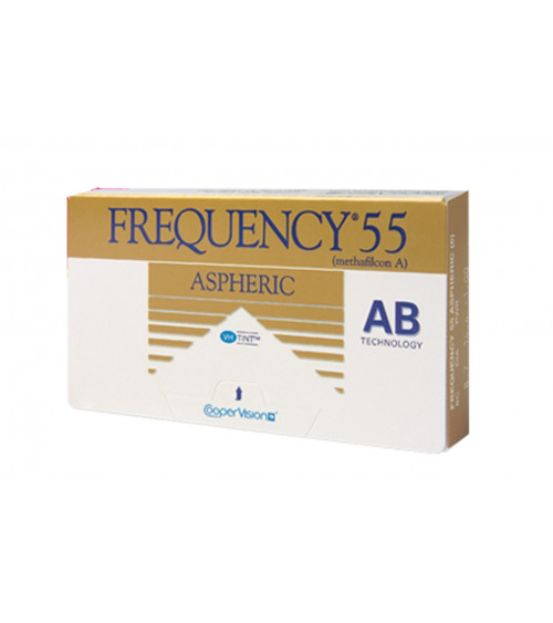FREQUENCY 55 ASPHERIC 3 pack