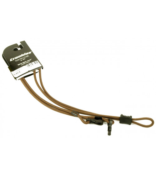 CROAKIES TERRA SPEC ADJUSTABLE LONG SOLID BROWN