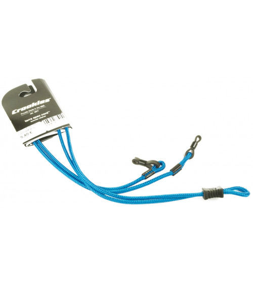 CROAKIES TERRA SPEC ADJUSTABLE LONG SOLID TURQUOISE