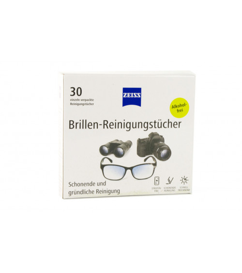 ZEISS LENS CLEANING WIPES 30 pack