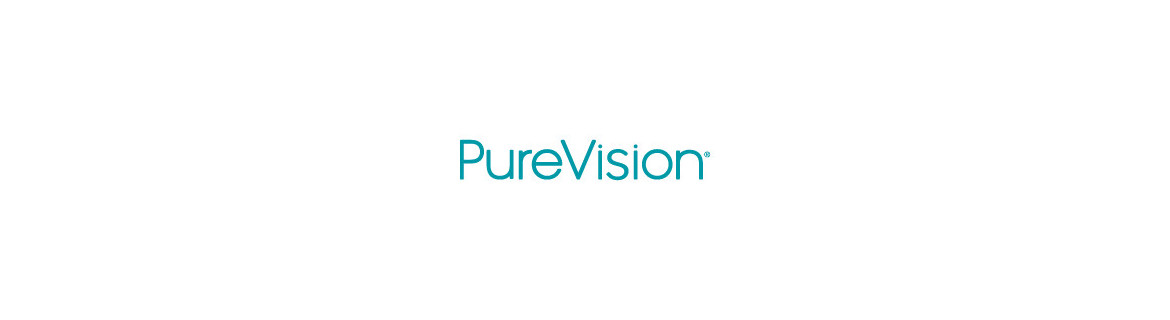 PureVision monthly contact lenses